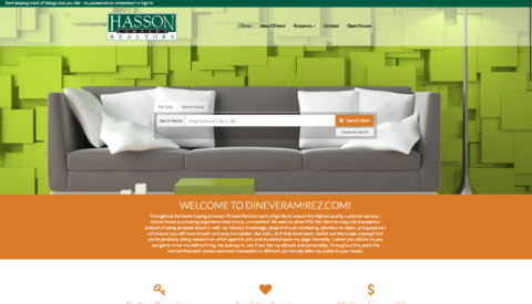 Real Estate Websites- Custom