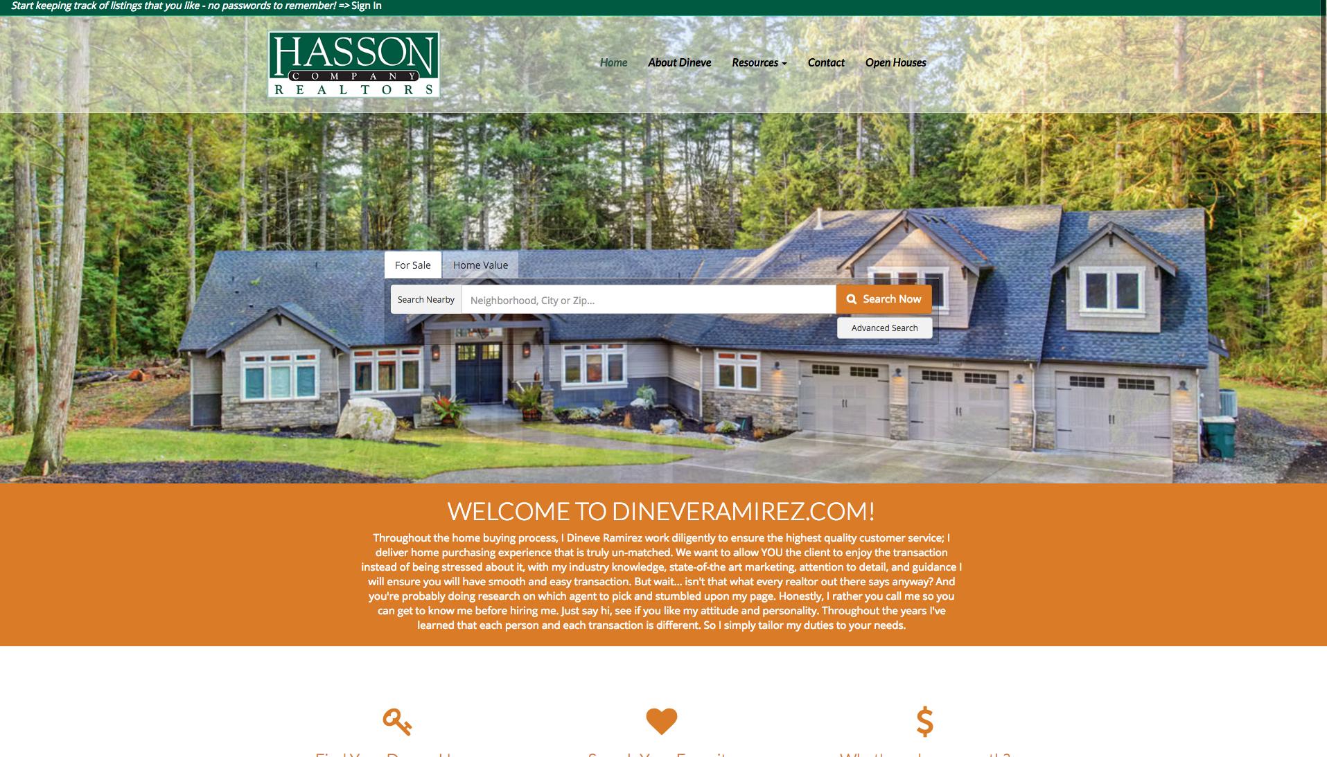 Real Estate Web Designer- Portland Oregon