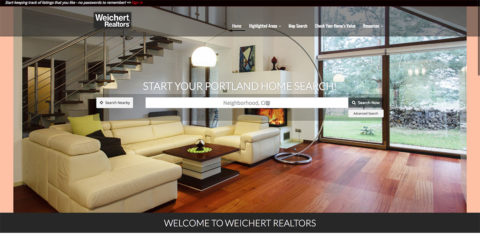 Custom Designed Realtor Websites