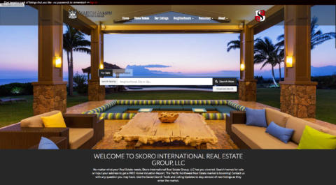 Custom Real estate Website Portland, Oregon- Real Estate Lead Generation