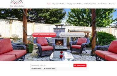 Custom Designed Real Estate Website