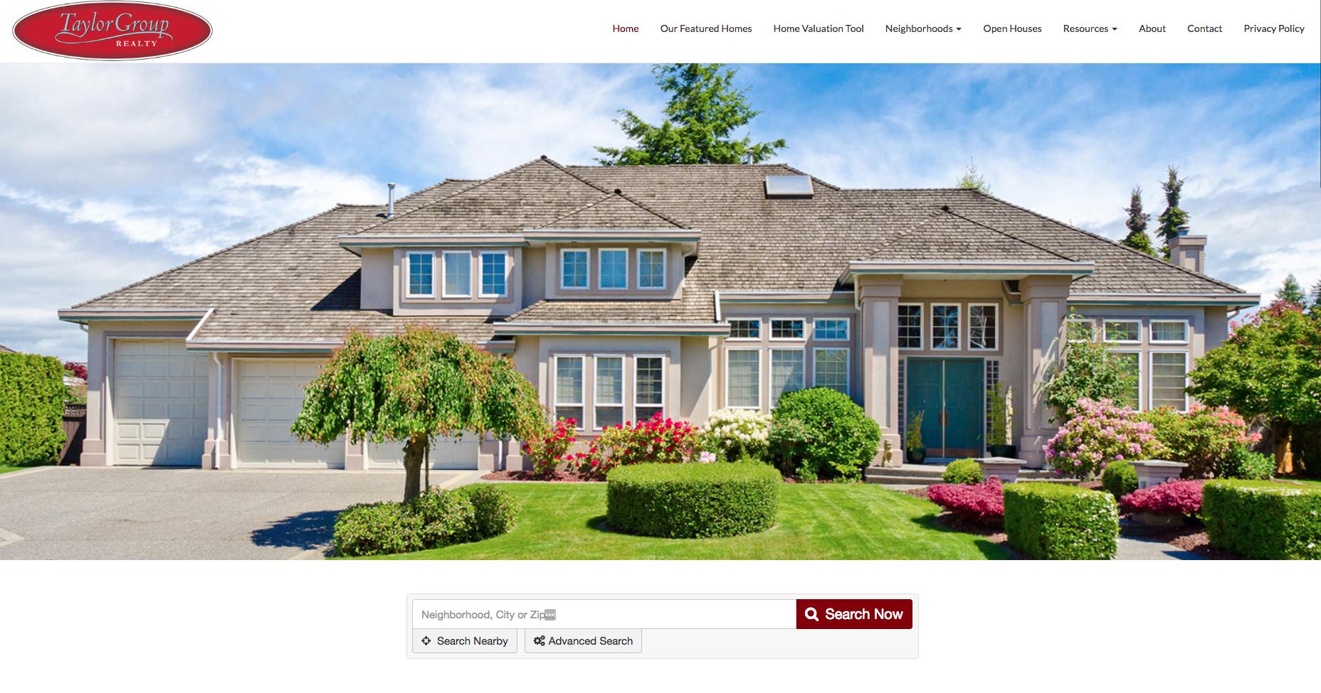 Custom Designed Realtor Websites